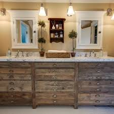 rustic bathroom reclaimed wood bathroom vanity country bathroom