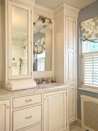 Bathroom Tower Cabinet Cherry Bathroom Linen Tower Bathroom Linen Tower For Linen