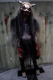 Halloween Statue Costume Size Creature Halloween Props Horror Dome