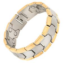 bracelet magnetic images Magnetic therapy bracelet double grandiose png