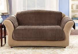 Leather Slipcover For Couch Sofa Furniture Covers Sure Fit Home Decor