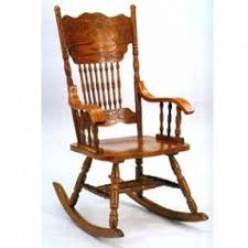 Oak Rocking Chairs Oak Double Pressback Chairs Foter