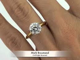 gold rings tiffany images 2 24ct round brilliant cut diamond engagement anniversary ring by jpg