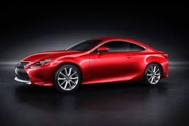 2015 lexus rc coupe gets new red paint color edmunds