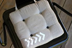 How To Make Seat Cushions For Dining Room Chairs How To Make Dining Chair Cushions With Bonus Embellishment