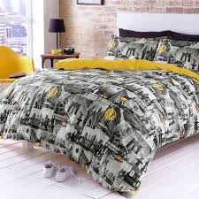 New York City Duvet Cover Bedding Collection Manhattan New York Ny The Big Apple Double