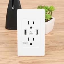 ls with usb outlets choifoo high quality high speed usb wall socket us plug dual usb