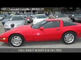 1995 chevy corvette for sale 1995 chevrolet corvette for sale in dallas tx 75208