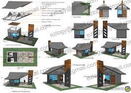 floor plan with perspective house guard house design brucall com