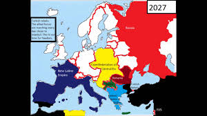World War 1 Map Of Europe by Alternative Future Of Europe 2026 2030 World War 3 Part 2 Youtube