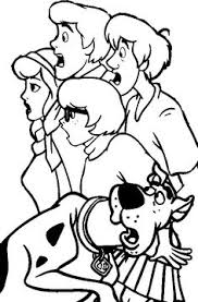 scooby doo u0026 shaggy coloring pages coloring pages print