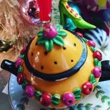 engelbreit teapot ornament ornament