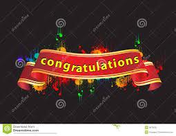 congratulation banner congratulations banner stock vector illustration of color 9678005