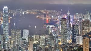 hong kong city nights hd wallpapers wallpaper hong kong evening sunset sky clouds bay building