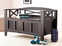 Bench Entry Hall Storage Amazing Bench Seat Console Full Image