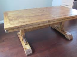 table rustic farmhouse dining room tables industrial medium