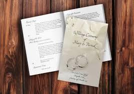 Catholic Wedding Booklet Wedding Mass Booklets Wedding Ceremony Booklets Wedding