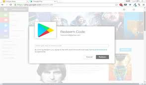 play email gift card how to redeem play gift cards droidviews