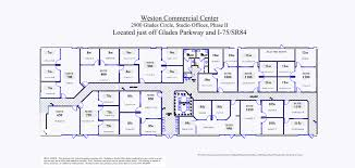 Floor Plan Of Office Building Site Map Floor Plans Business Weston Commercial Center Weston Fl