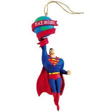 superman peace on earth ornament warner brothers store