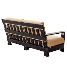 Amish Made Bedroom Furniture by Amish Made Poly Contemporary Patio Deep Seat Sofa