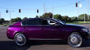 lexus service memphis white and candy purple lexus pulling into wrap starz car show