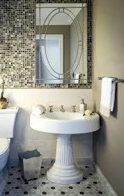 pedestal sink bathroom ideas pedestal sink for small bathroom paml info