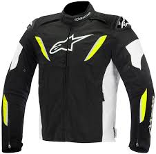 black riding jacket alpinestars t jaws v2 air textile jacket clothing jackets