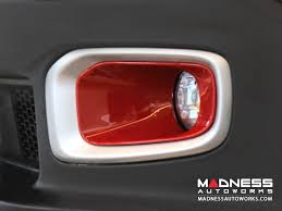 jeep light covers jeep jeep renegade fog light covers madness autoworks