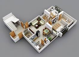 Floor Plans For Flats 25 Two Bedroom House Apartment Floor Plans