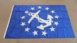 New Yorks Flag J P Morgan U0027s 1795 Cognac Wine Yacht China Artwork And New