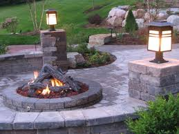 Gas Firepit Kit Build A Outdoor Gas Firepit Document On Building His Diy