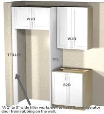 cabinet enclosure for refrigerator refrigerator enclosure tutorial
