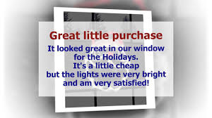 Lighted Christmas Window Decorations by Lighted Window Decoration Santa Face Cute Product Impact