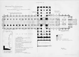 Wells Cathedral Floor Plan Winchester Cathedral Floor Plan English Medieval Cathedrals
