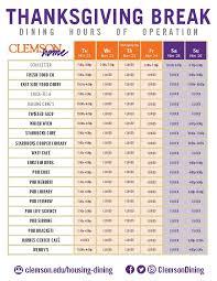 clemson dining services clemson