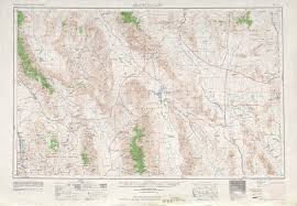 Arizona California Map by Death Valley Topographic Maps Ca Nv Usgs Topo Quad 36116a1 At