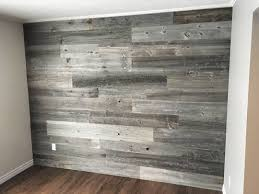 Which Wall Should Be The Accent Wall by Close Up Of The Dining Room Reclaimed Wood Accent Wall Before The