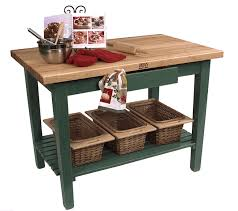 john boos classic country work table kitchen island 48