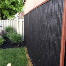 wonderful bamboo privacy fence roof fence u0026 futons create