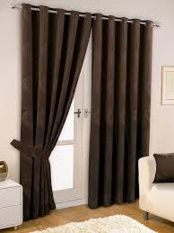 Chocolate Curtains Eyelet Eyelet Curtains Add Charm To Any Room How To Build A House