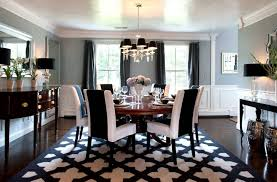 Black White Striped Rug Dining Room Black And White Striped Rug Ideas Black And White