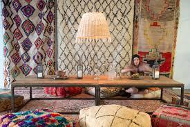 moroccan floor pillows colorful patina