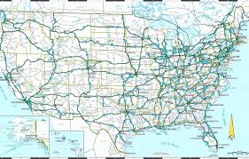printable road maps printable united states road map