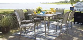 outdoor table set with 6 chairs for 199 at lowe u0027s home