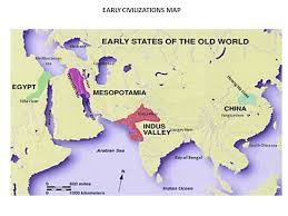 world river map image 2 class work early civilizations map activity text book page 68 1