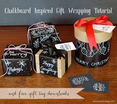 chalkboard wrapping paper the creative bag november 2013