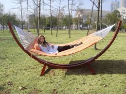 outdoor best choices and comfort free standing hammock design