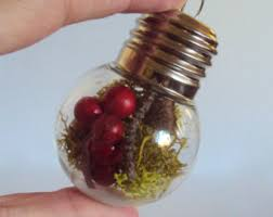 lightbulb ornament etsy