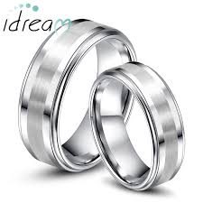 Mens Tungsten Wedding Rings by Step Edge Tungsten Wedding Bands Set For Women U0026 Men Tungsten